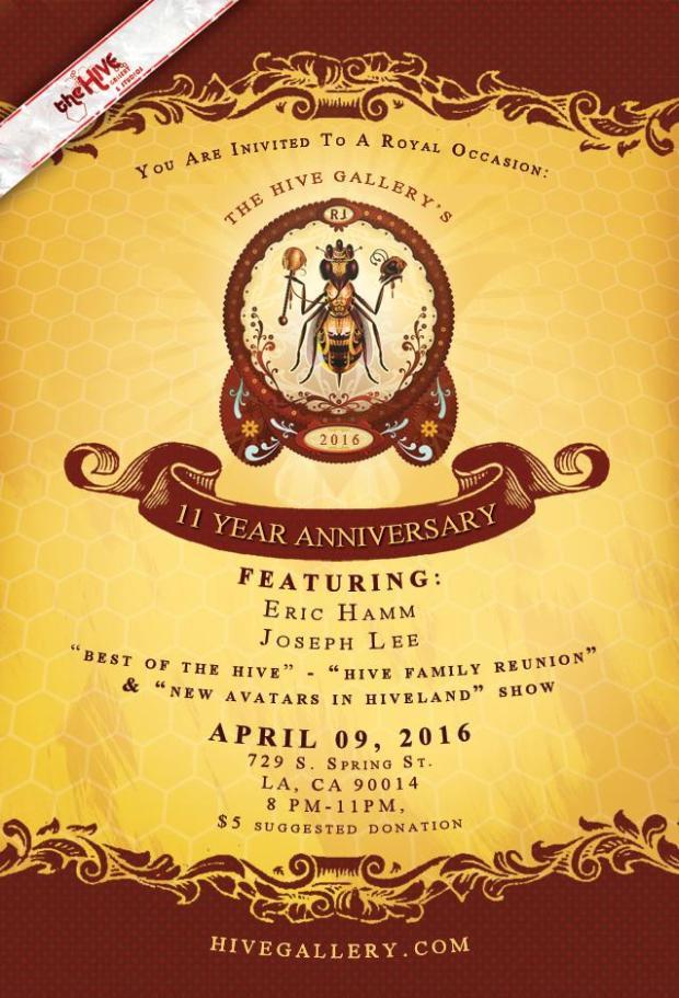 Anniversary 11 show promo card