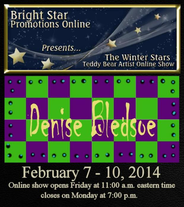 Bright Star Show Promo Card - Bledsoe