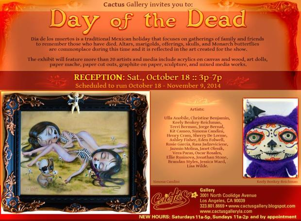 Cactus Gallery - Day of the Dead - Denise Bledsoe