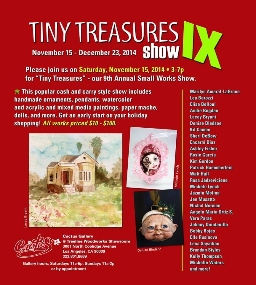Cactus Gallery - Tiny Treasures IX - Denise Bledsoe