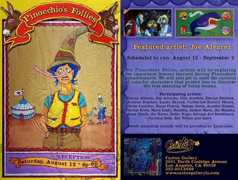 Pinocchio Promo Card - Denise Bledsoe
