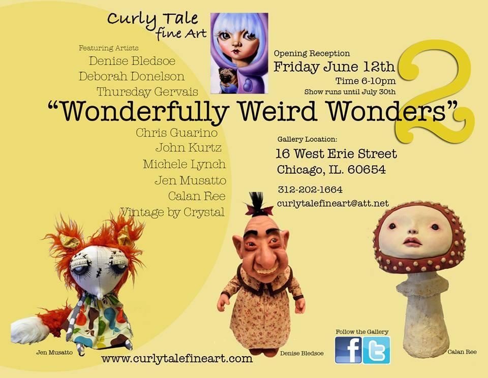 Wonderfully Weird Wonders - Denise Bledsoe