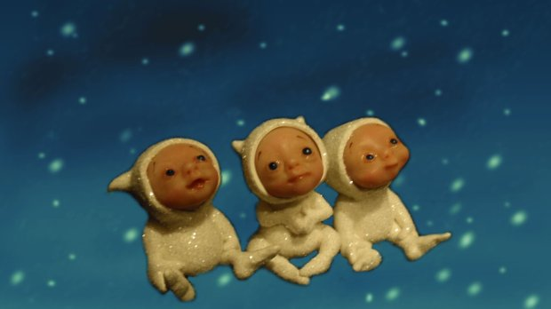"More available snow babies - just under 2"" tall."