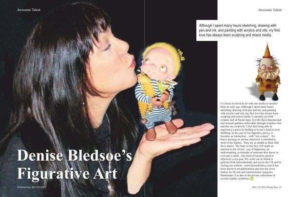 Pretty Toys Magazine article May 2013 - Bledsoe