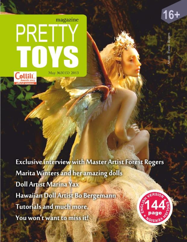 Pretty Toys Magazine cover