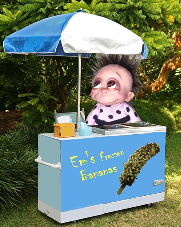 Em's Frozen Banana Cart - Bledsoe