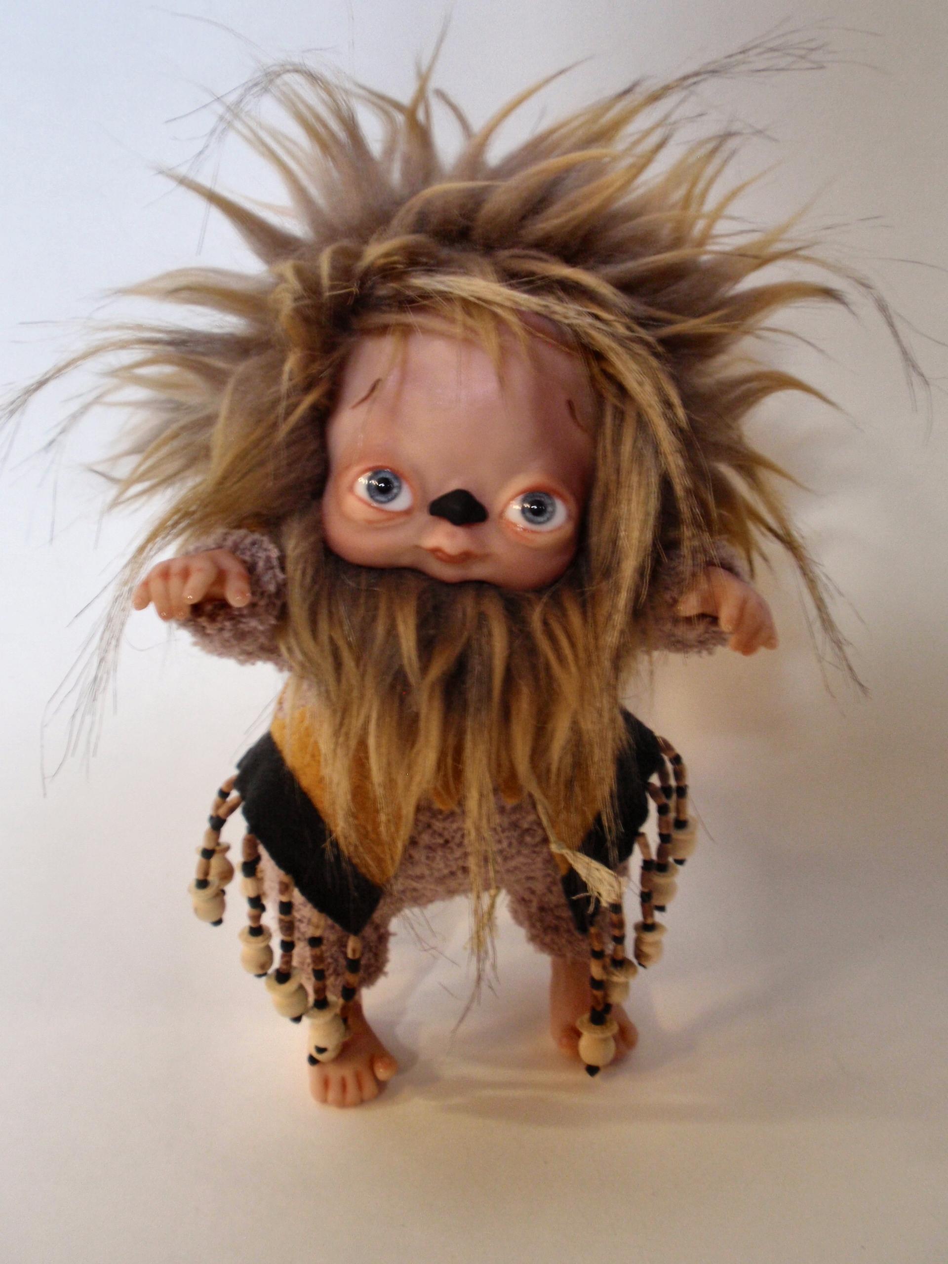 Cowardly Lion Denise Bledsoe Art Dolls