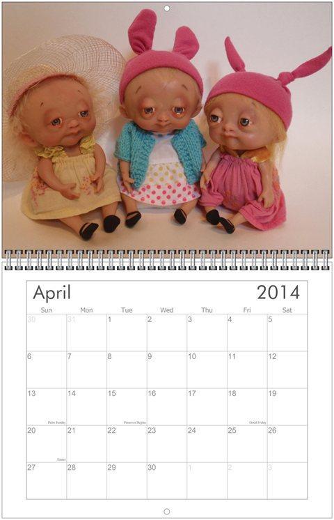 Calendar - April 2014 - Bledsoe