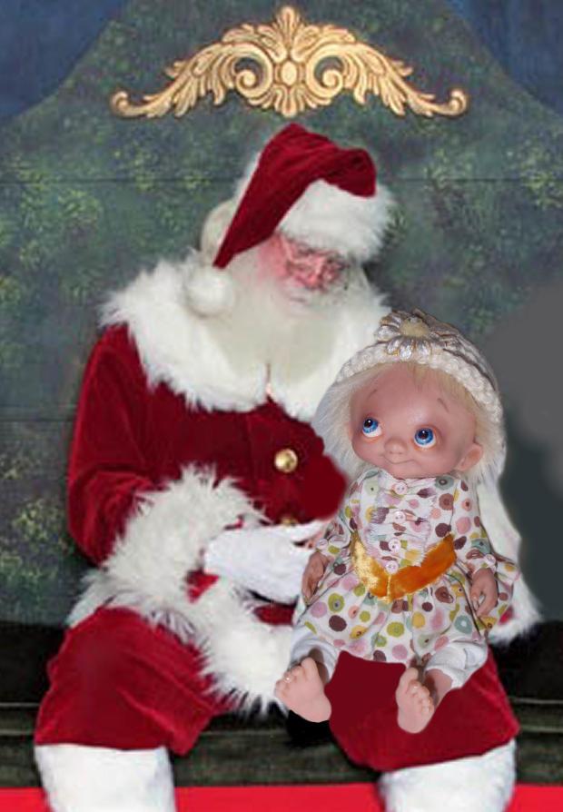 Noel and Santa - Bledsoe