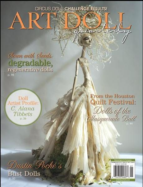 Art Doll Quarterly Spring 2014 - Bledsoe