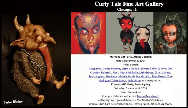 Curly Tale Fine Art for Facebook and Web Page + - Denise Bledsoe