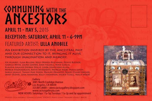 Communing With The Ancestors Promo Card - Denise Bledsoe