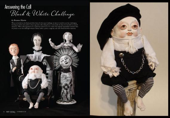 Art Doll Quarterly summer 2015 - Denise Bledsoe