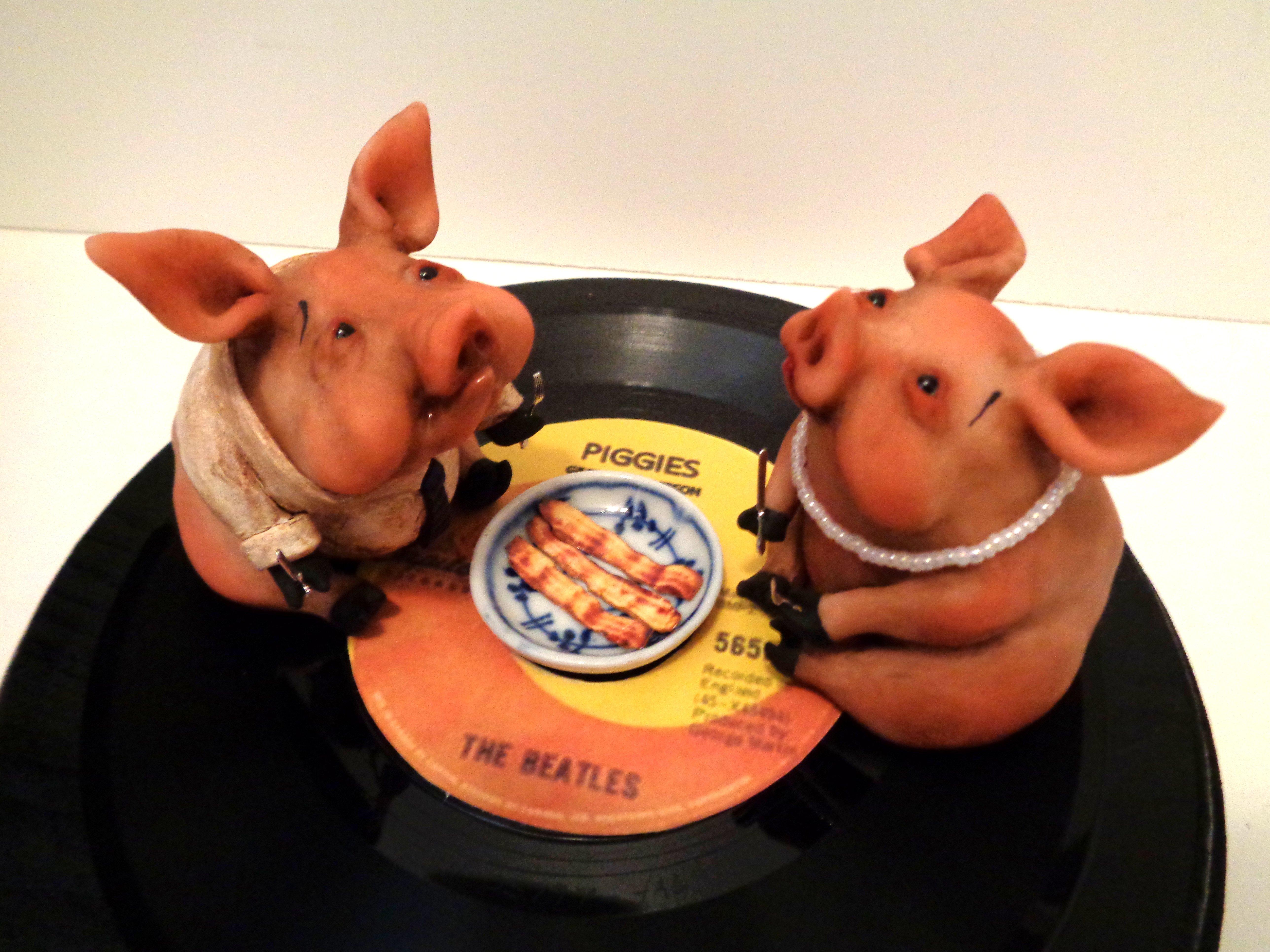 Piggies - detail A - Denise Bledsoe