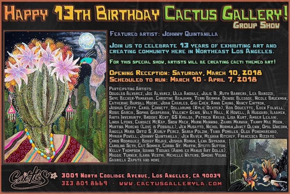 13th Anniversary - promo card