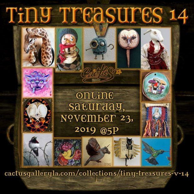 Tiny Treasures 2019 promo card - Denise Bledsoe