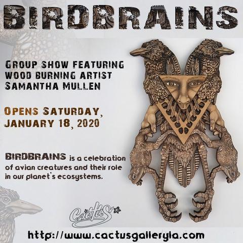 Birdbrains promo card - Denise Bledsoe
